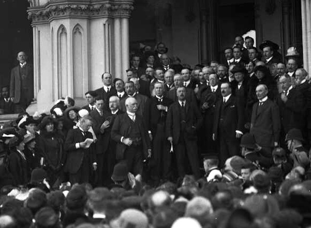 New Zealand enters the First World War | NZHistory, New