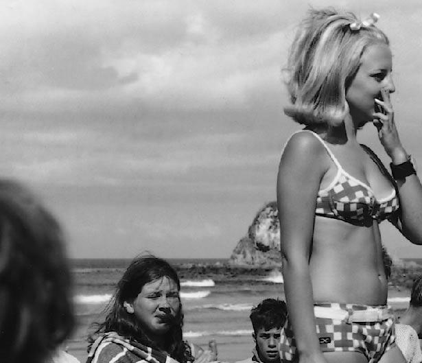 1960s bathing suit contest
