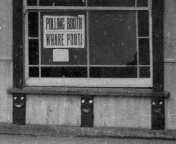 Māori polling booth