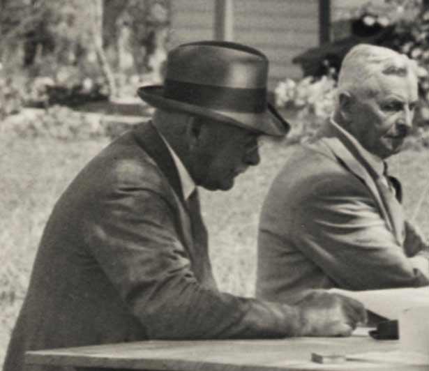 Early meeting of the Waitangi National Trust Board