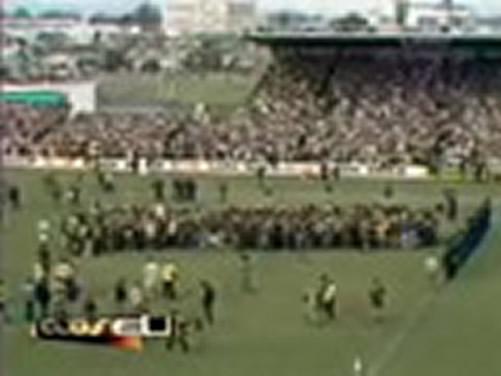 Film Game Cancelled In Hamilton 1981 Springbok Tour