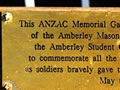 Amberley school memorial