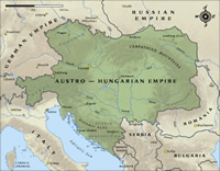 Austro-Hungarian Empire Map thumbnail