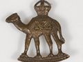New Zealand Imperial Camel Corps hat badge