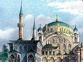 Ottoman mosque in Constantinople