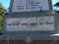 HakatarameaWar Memorial