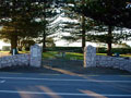Kaikoura war memorial gates