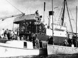 Niagara sunk by German mines off Northland