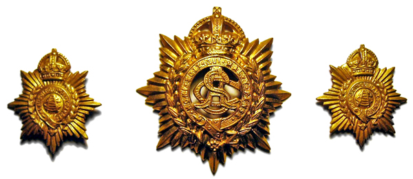 NZ Army Service Corps badges