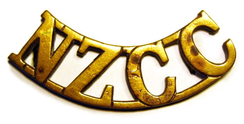 New Zealand Cycle Corps shoulder title