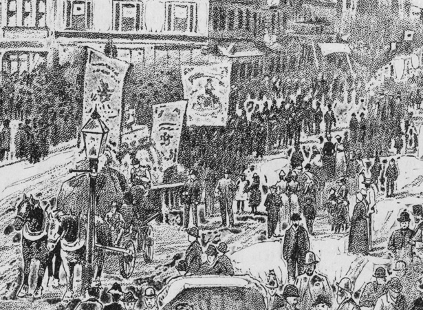 First Labour Day Celebrations Nzhistory New Zealand History Online