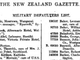 New Zealanders who resisted the First World War