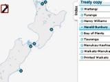 Treaty signatories and signing locations