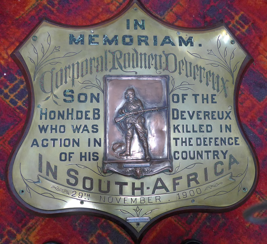 Devereux memorial shield nzhistory new zealand history for The devereux