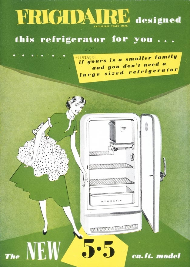 Fridge Advert From The 1950s