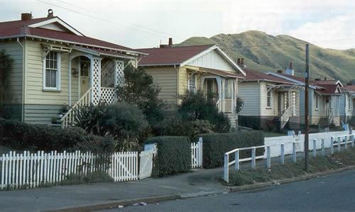 Railway houses in Ngaio | NZHistory, New Zealand history