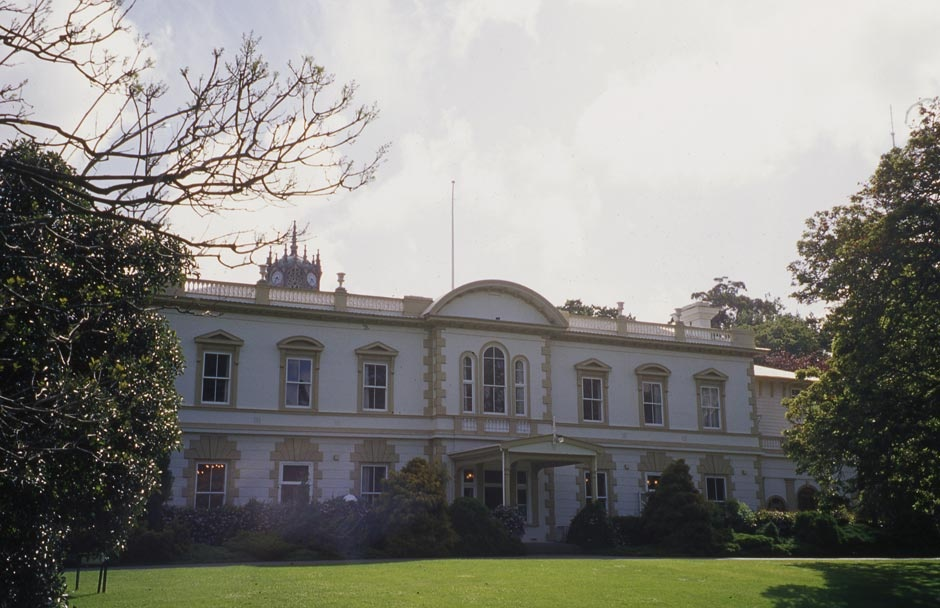 Old Government House   NZHistory, New Zealand history online