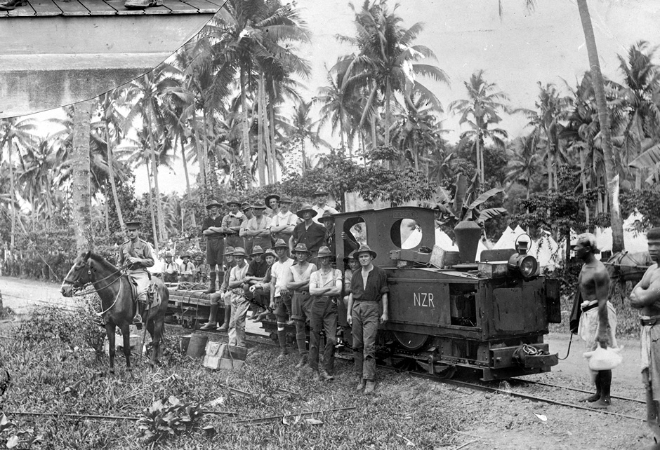 NZ Railway Engineers in Samoa, 1914 - Ministry for Culture and Heritage