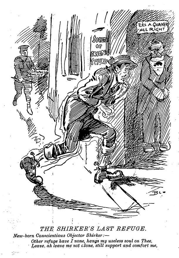 essay on conscientious objectors The conscientious objectors who refused to fight in the first world war were courageous in this way conscription in 1914, after 20,000 casualties had been recorded in the first two weeks of the war, compulsory call-up for british men looked increasingly likely pacifist members of the no-conscription fellowship, set up.