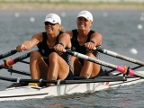 Evers-Swindell twins defend Olympic rowing title at Beijing