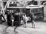 Wellington steam-tram service opened