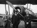 First flight across Cook Strait