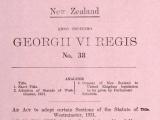 Statute of Westminster enacted