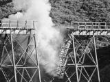 Belmont viaduct blown up