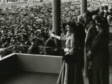 Queen Elizabeth II arrives for royal tour