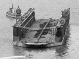 Floating dock breaks moorings in Wellington Harbour