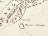 James Cook sights Banks 'Island'