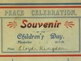 1919 peace celebrations