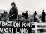 Occupation of Bastion Point begins