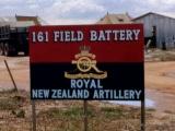 New Zealand artillery opens fire in Vietnam