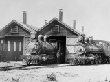 Steam locomotive sets world speed record