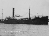 New Zealand steamer captured by the <em>Wolf</em>