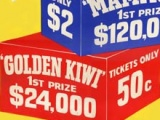First Golden Kiwi lottery draw