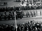 Funeral procession for Prime Minister Savage