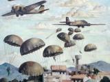 German paratroops assault Crete