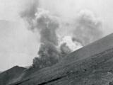 Mount Tongariro erupts
