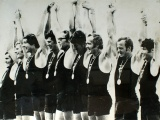 New Zealand's rowing eight wins gold