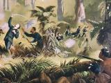 Von Tempsky killed at Te Ngutu-o-te-manu