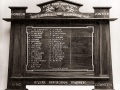 East Town railway workshops roll of honour board
