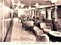 Lounge on the Captain Cook immigrant ship