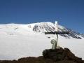 Koru capsule on Mt Erebus