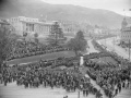 Anzac Day ceremony outside Parliament House, 1927