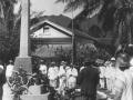 Unveiling of soldiers' memorial, Avarua