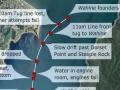 Wahine disaster map