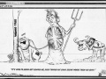 Falklands War cartoon