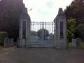 Stratford war memorial gates